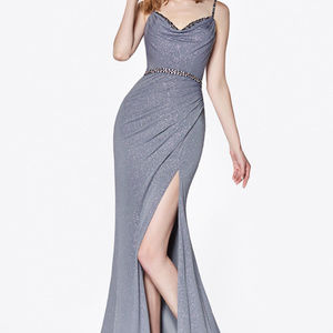 Spaghetti Straps Evening Long Dress
